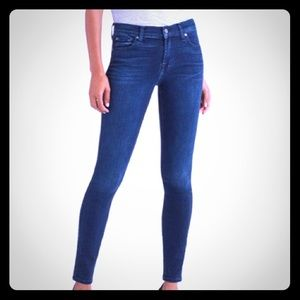 Seven for All Mankind The Skinny Jeans Mid-Rise